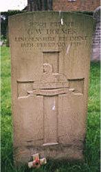 George W. Holmes headstone