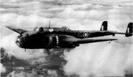 144 Sqn Hampden Bomber